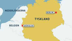 Würselen ligger vid den belgiska gränsen.