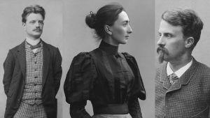 Jean Sibelius, Aino Järnefelt, Juhani Aho