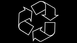 Kierrätys-symbooli.