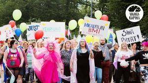 Body Pride Helsingissä elokuussa 2017