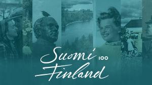 Sidhuvud för Suomi Finland 100 på Arenan