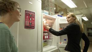 Hanna Karlsson är toxikololg och forskar i hur lungorna påverkas av nanopartiklar.