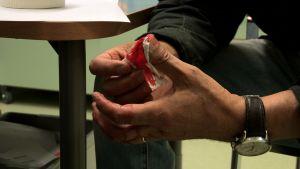 Verinen sormi