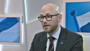 Mika Mäkinen, inrikesministeriet.