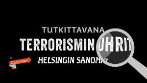 Tekstiä Tapaus HS ja terrorismin uhrit