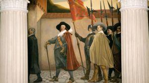 Osa maalauksesta Albert Edelfelt.