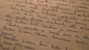 vanha kirje