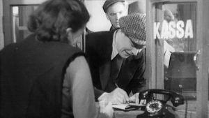 Ote Postipankin mainosfilmistä (1948).