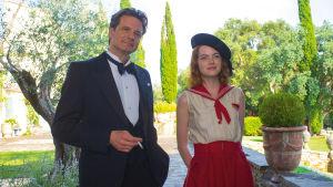 Colin Firth ja Emma Stone elokuvassa Magic in the Moonlight