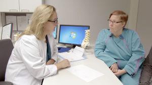 Mari on saapunut lihavuusleikkaukseen Kuopion yliopistolliseen sairaalaan.