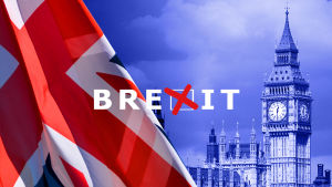 iso-britannian lippu, big ben, brexit