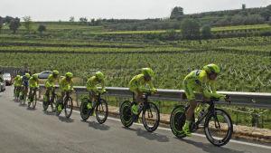 Giro d'Italia Veronan seudulla.