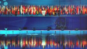 Kansainväliset uintikisat Barcelonassa.