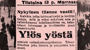 Työmies-lehti 13.11.1917