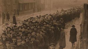 Suurlakko Helsingissä 1917