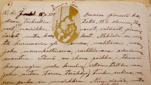 Ote Alma Kuulan päiväkirjasta.