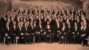 Ylioppilaskunnan Laulajat ja Heikki Klemetti 1910