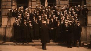 Akademiska Sångföreningen vappuna 1910