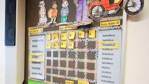 Luokkahuoneen kalenteri
