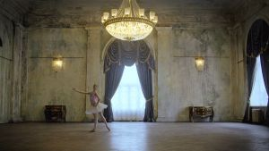 Balettitanssija Maria Khoreva. Kuva sarjasta Sami Yaffa - Sound Tracker