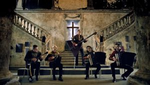 ESSe-kvintetti Pietarista. Kuva sarjasta Sami Yaffa - Sound Tracker