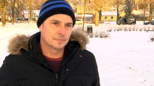 Porträttbild på Thony Wickström.