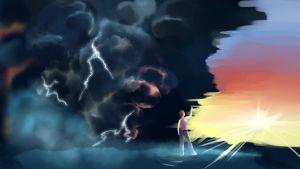 Illustration till Misshandlad kärlek