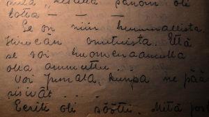 Katarina Sibeliuksen päiväkirja 1918