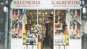 Vanha firenzeläinen ruokakauppa