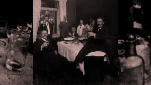 Juhlijoita Kämpin kabinetissa 1914-1919