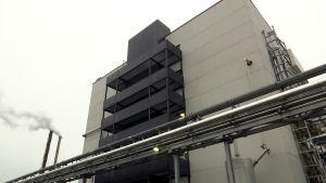 Fermions industribyggnad i Hangö.