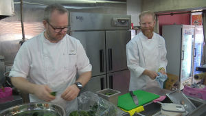 Norska kockar lagar mat i Sydkorea.