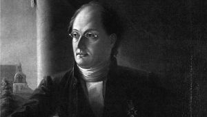 Johan Ludvig Runeberg kuvassa.