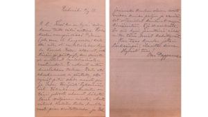 Oskar Merikannon kirje.