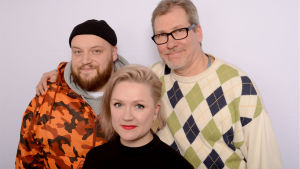 Kasmir, Maija Kauhanen ja Jyrki Koskenseppä Levylautakunnassa
