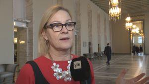 Eva Biaudet i riksdagen