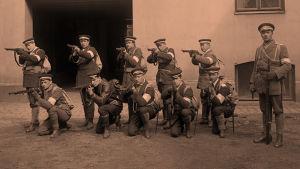 Valkokaarti 1918