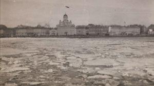 Helsinki mereltä
