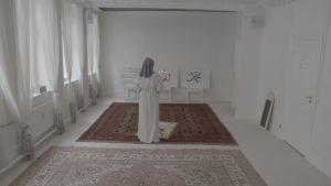 Imam Sherin Khankan ber i Mariam-moskén