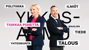 Toimittajat Päivi Neitiniemi ja Olli Seuri