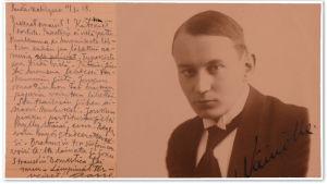 Aarre Merikanto vuonna 1919.