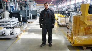 Vladimir Konjetsov, fabriksarbetare i Tjeljabinsk.