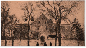 Suitian kartano (ruotsiksi Svidja) talvella 1918.