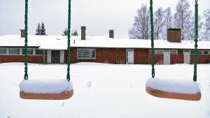Pukkilassa sijaitseva talo jossa pahoja kosteuvaurioita.