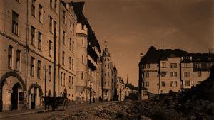 Luotsikatu Helsingissä 1905