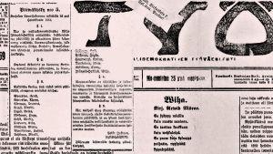 Työ-lehti 25. maaliskuuta 1918.