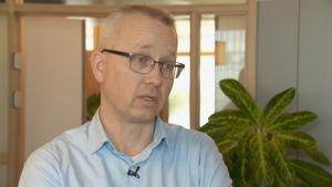 Matthijs Mesken är chef för Blomhandlarnas intresseorganisation
