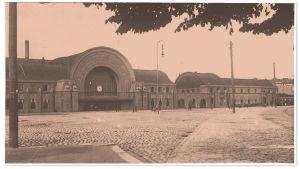 Viipurin asema 1918.