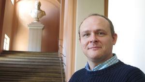 teologian tohtori Niko Huttunen Helsingin yliopistosta