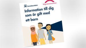 Socialstyrelsens broschyr om barnäktenskap.